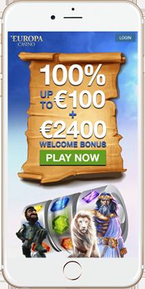 Europa Casino Instant Play