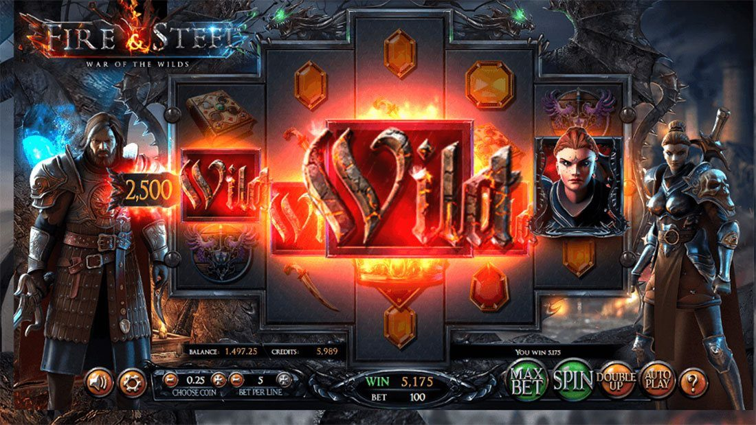 Fire & Steel: War of the Wilds Slot