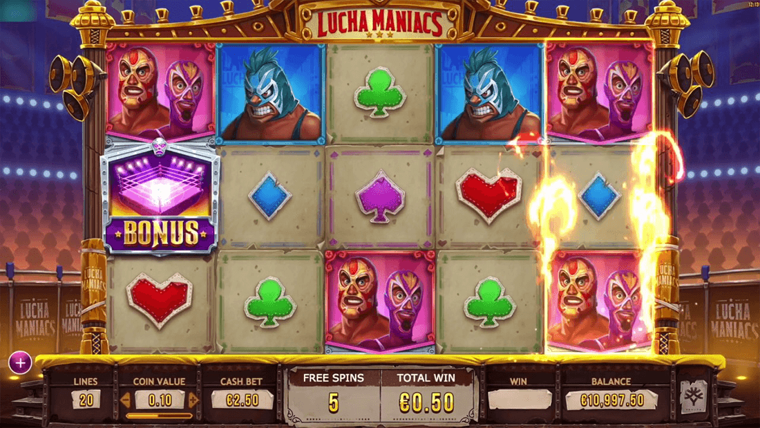 Lucha Maniacs Game Play