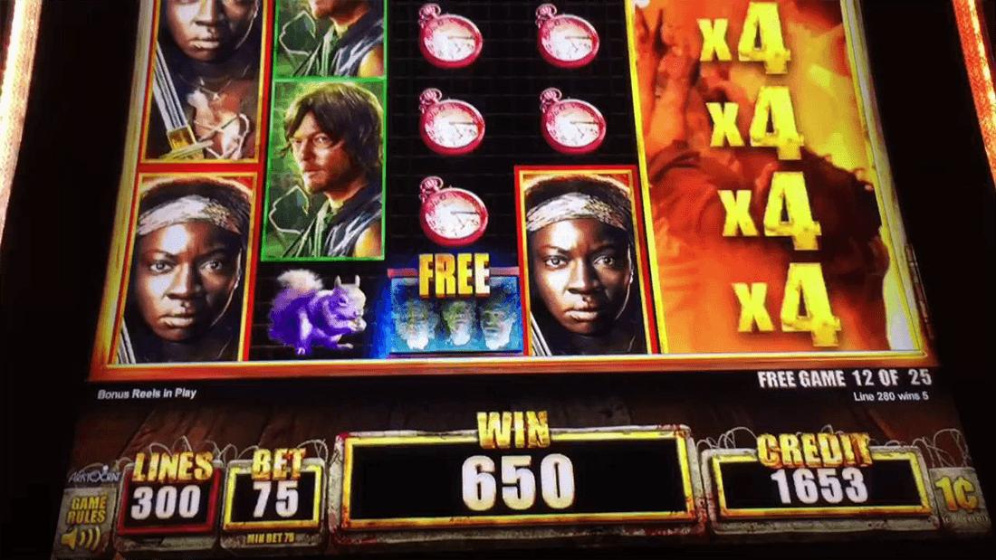 Walking dead free online slot machine