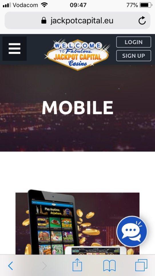 Jackpot Capital Casino Instant Play