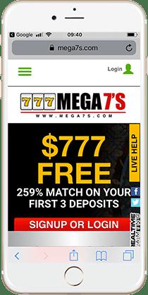 Vegas 7 mega casino