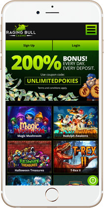 Raging Bull Casino 2020 75 No Deposit Bonus