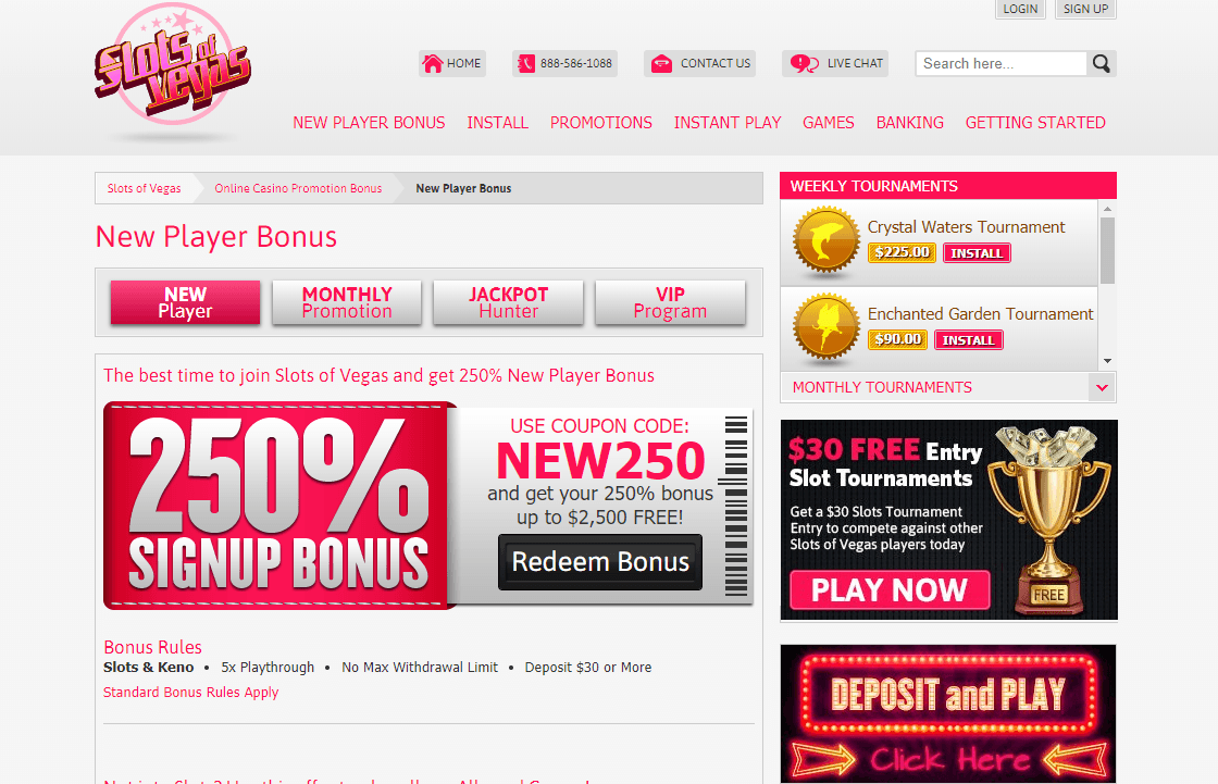 Slots Of Vegas Real Money