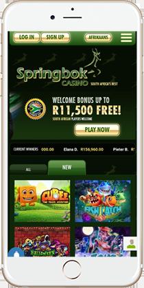 Springbok Casino No Deposit